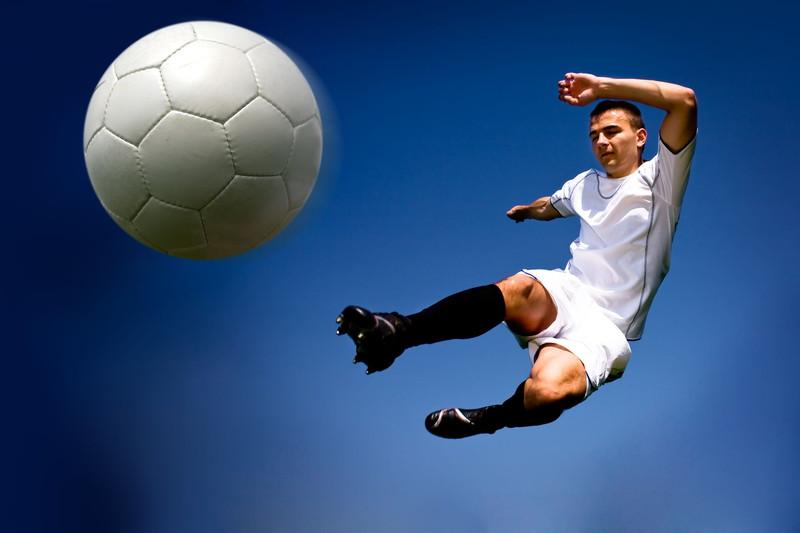 ボールを空中で受ける